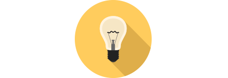 Illustration of lightbulb